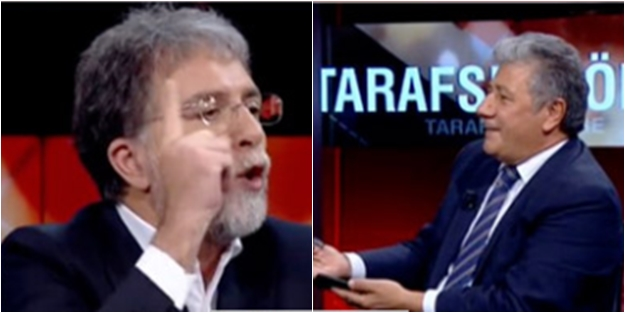Canlı yayında HDP krizi! Ahmet Hakan ile Mustafa Balbay birbirine girdi