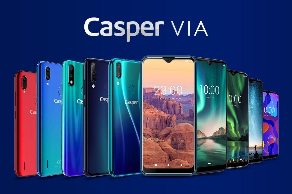Casper VIA cep telefonlarında bahar kampanyası