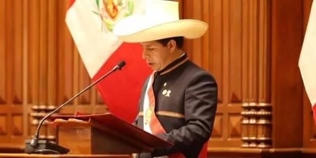 Castillo, Devlet Başkanı olarak yemin etti