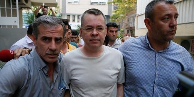 Casus Brunson: Ben masumum, Türkiye'yi seviyorum