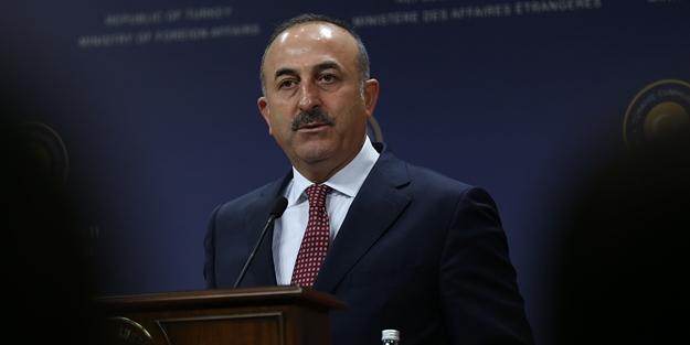 Çavuşoğlu: Başbakanınız konuşmayı bıraksın!