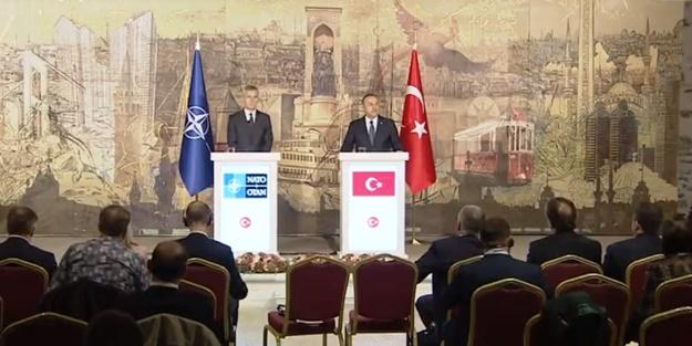 Çavuşoğlu ve Stoltenberg'ten harekat açıklaması