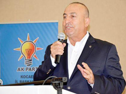 Çavuşoğlu: Bizim ittifakımız halk ile