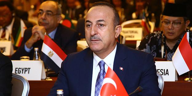 Çavuşoğlu'ndan uluslararası topluma