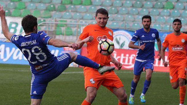Çaykur Rizespor hazırlık maçında Dinamo Batumi'yi 3-1 yendi