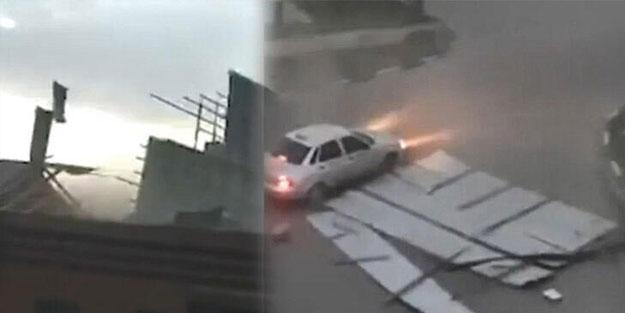 Çeçenistan'da fırtına etkili oldu: 11 yaralı
