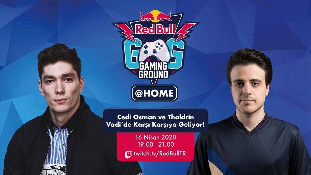 Cedi Osman Red Bull Gaming Ground @HOME'da vadiye iniyor