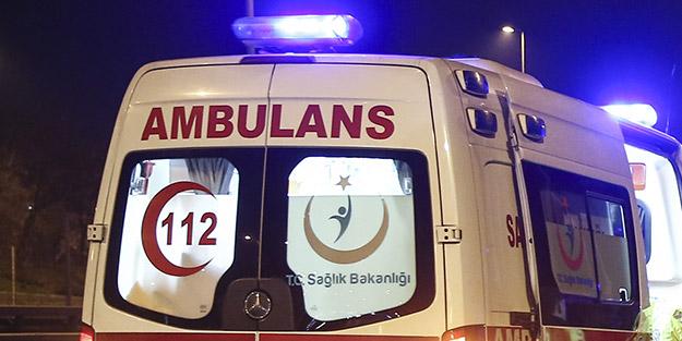 Çekmeköy'deki trafik kazasında 2 kişi yaralandı