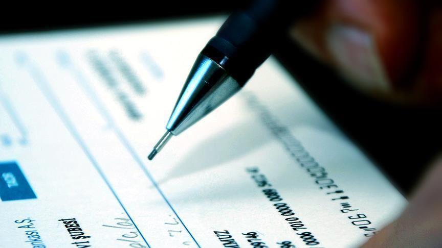 Çekte bankanın ödemekle sorumlu olduğu miktar 2 bin 225 liraya çıkarıldı