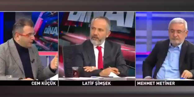 Cem Küçük'ten flaş ifadeler! 'Erdoğan karşıtı herhangi biri seçilirse FETÖ'yle uğraşanların kellelerini alırlar'