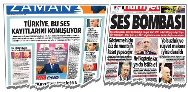 Cemaatin gazeteleri sanki CHP pravdası