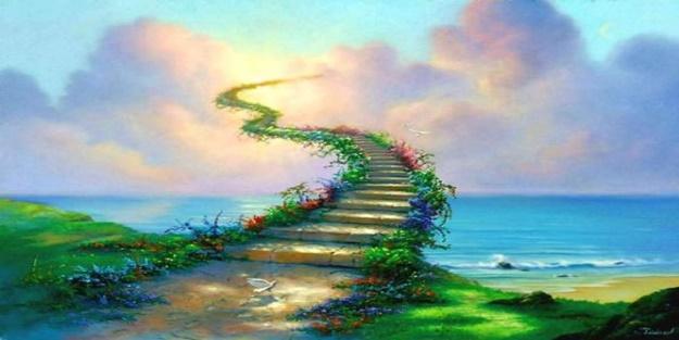 Cennete giden yollar buralardan geçer