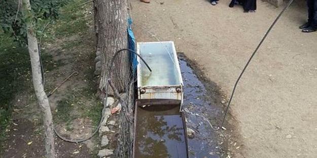 Çeşmeden su içen çocuk öldü