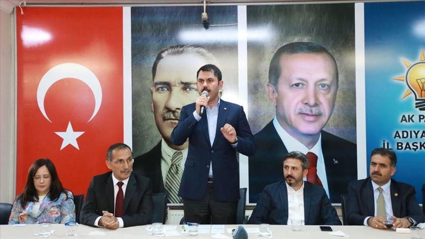 Çevre ve Şehircilik Bakanı Kurum: Barış Pınarı Harekatı'nda da aynı cevabı vereceğiz