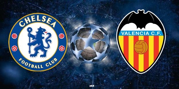 Chelsea Valencia maçı saat kaçta hangi kanalda?