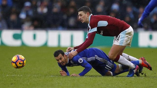Chelsea'ye Burnley çelmesi