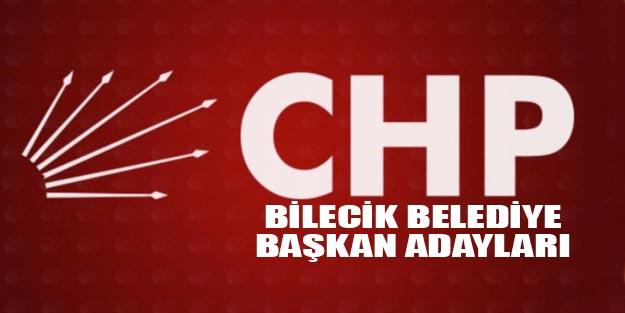 CHP Bilecik belediye başkan adayı kim?