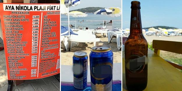 CHP devletin arazisine çöküp içki satmış!