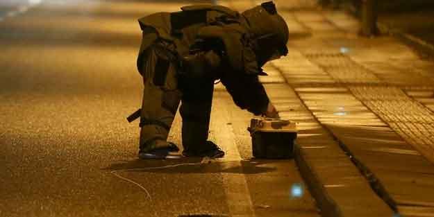 CHP Genel Merkezi yakınlarında patlatıldı!