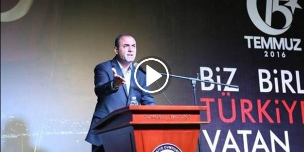 CHP İl başkanın sözleri herkesi ağlattı