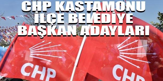 CHP Kastamonu ilçe belediye başkan adayları 2019
