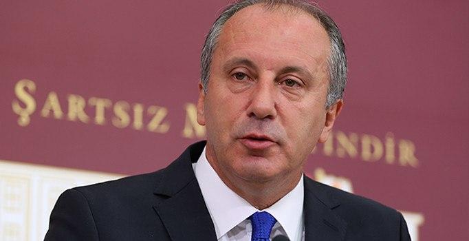 CHP milletvekli Muharrem İnce: Derhal olağanüstü kurultay toplanmalı