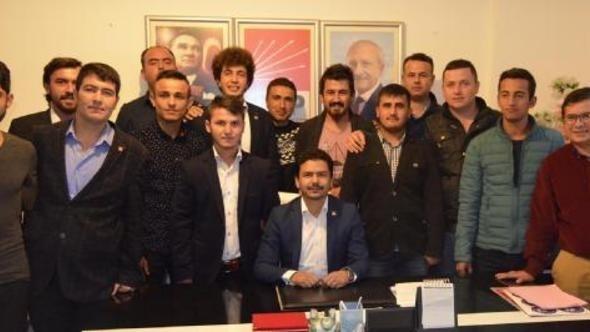 CHP'de Kozlu İlçe Gençlik kolları başkanı ve yönetimi istifa etti