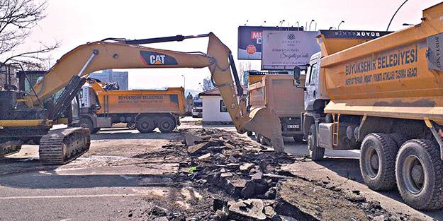 CHP'li Ankara Belediyesi gazilere ait otoparkı yıktı