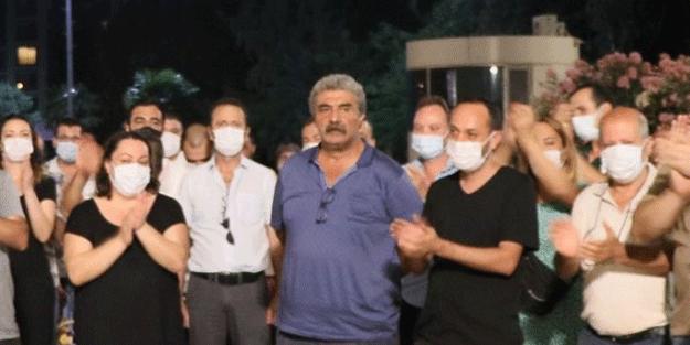 CHP'li belediyede bayram öncesi onlarca çalışana zulüm! Eylem yaptılar