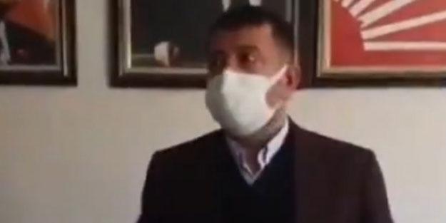 CHP'li isim depreme canlı yayında yakalandı