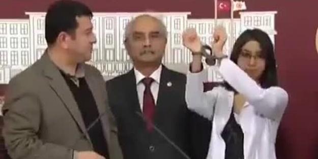 CHP'li Özgür Özel'den teröristi TBMM'de ağırlayan Veli Ağbaba'ya destek!