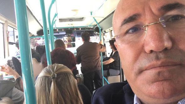 CHP'li Tanal'ın minibüsteki paylaşımı alay konusu oldu!
