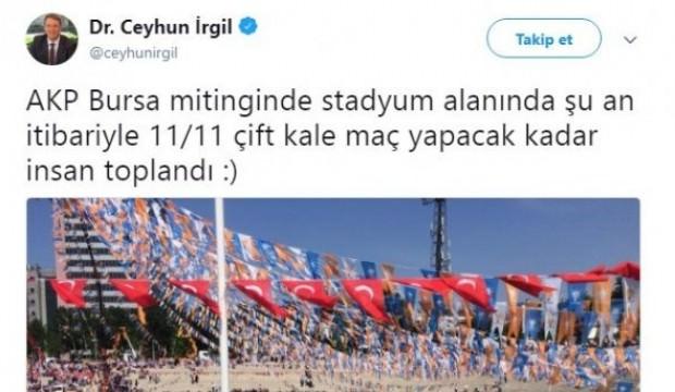 CHP'li vekil Cumhurbaşkanı Erdoğan tweetiyle rezil oldu
