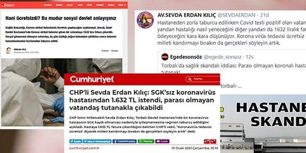 CHP'li vekilin yalanına İzmir Valiliğinden cevap