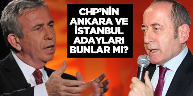 CHP'nin İstanbul ve Ankara Büyükşehir Belediye başkan adayı kim olacak?
