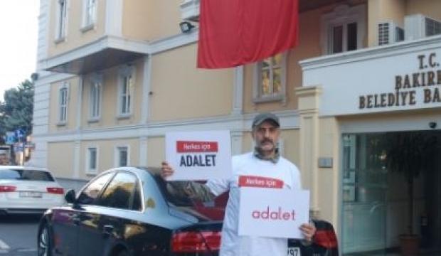 CHP'ye karşı 'adalet' yürüyüşü