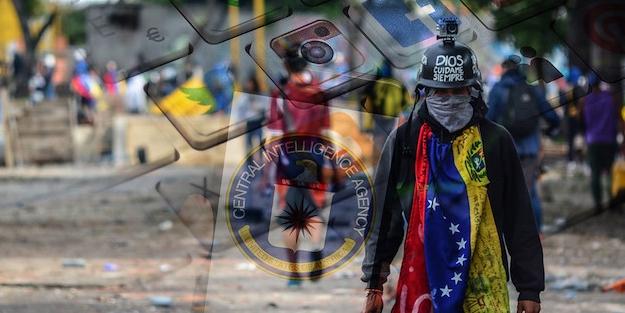 CIA, Venezuela'da 'çevrimiçi'!