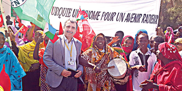 Cibuti'de AB'ye rest