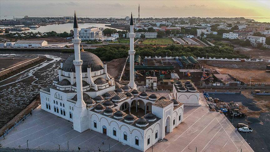 Cibuti'nin en büyük camisinin resmi açılışı bu ayın sonunda yapılacak