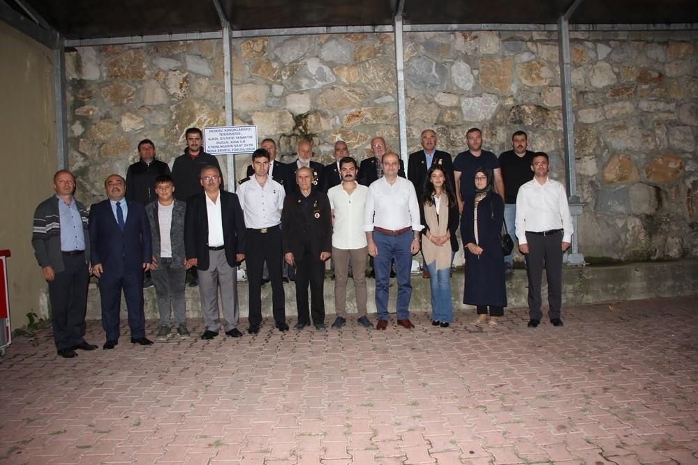 Cide'de şehit ve gazi aileleri 15 Temmuz yemeğinde buluştu