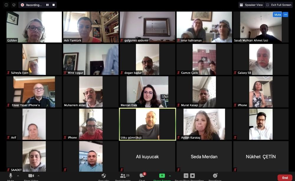 Çiğli'de online halk toplantısı