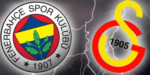 Galasaray'dan Fenerbahçe'ye çalım!