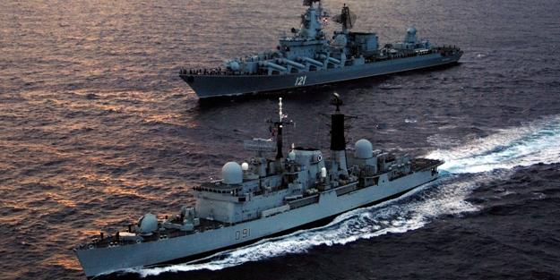 Çin: ABD gemileri o bölgeyi terk etsin
