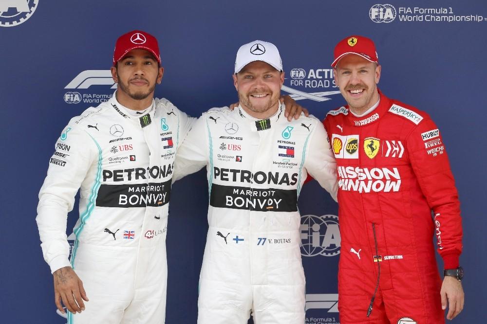 Çin Grand Prix'inde pole pozisyonu Bottas'ın