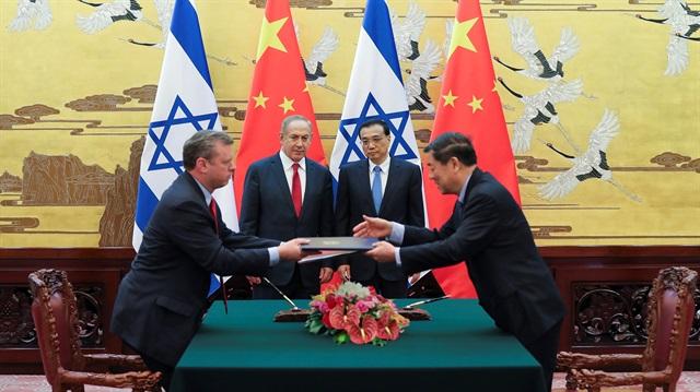 Çin ile İsrail serbest ticaret bölgesi kuracak