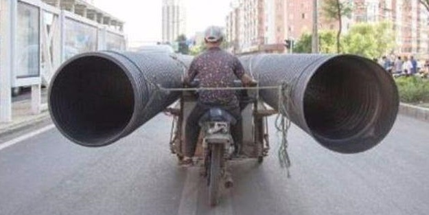 Çin yollarından sıra dışı manzaralar