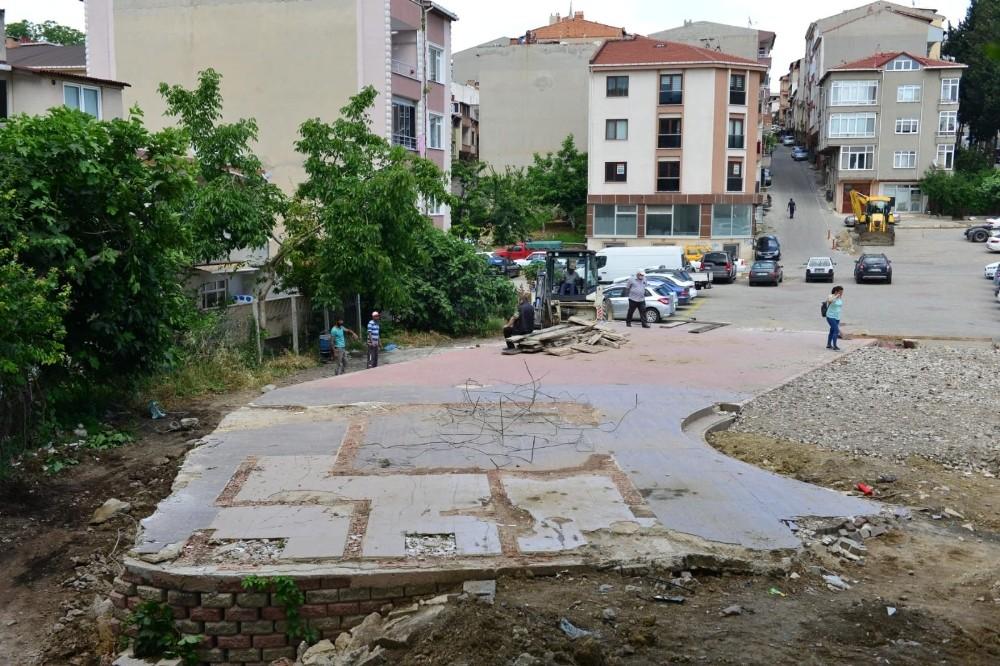 Çınarlı'ya Engelsiz Park