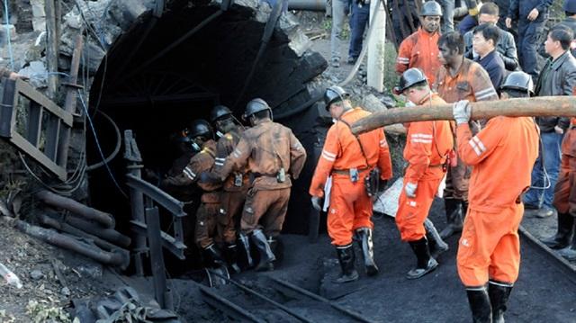 Çin'de grizu patlaması: 1 ölü
