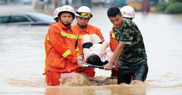 Çin'de ölü sayısı yükseliyor