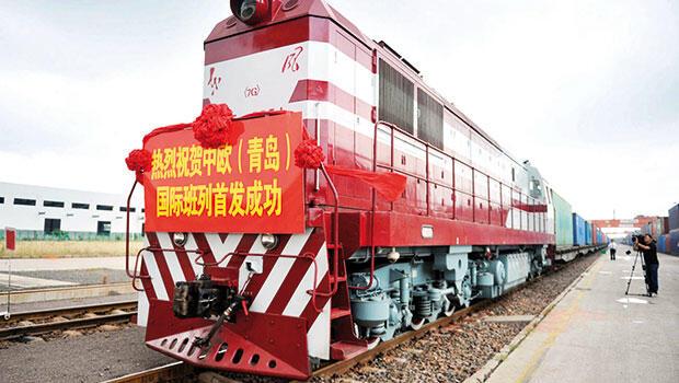Çin'den Avrupa'ya tarihi sefer